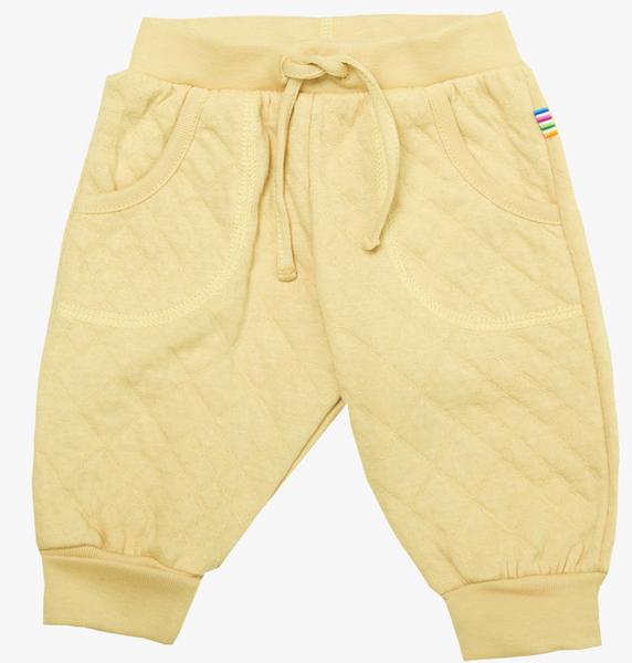 Bilde av bukse quilt lys gul