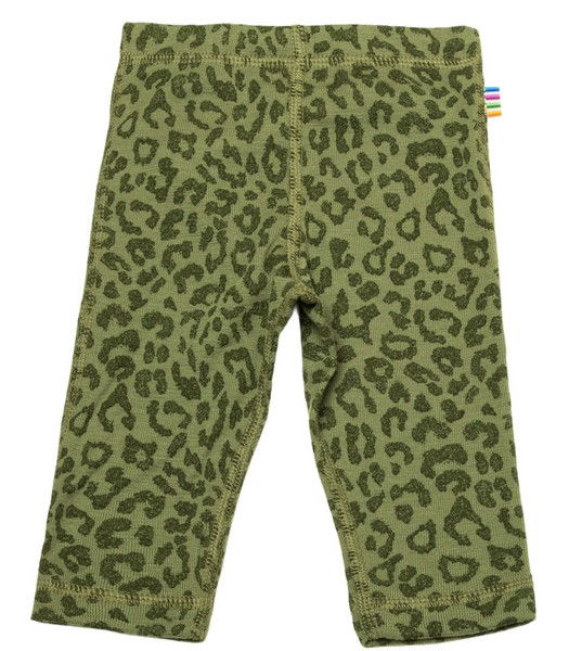 Bilde av Leggings ull leo grønn